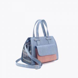 Елегантна дамска чанта от корк 'GRANDE AZUL'