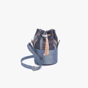Елегантна дамска чанта от корк 'PEQUENO AZUL'
