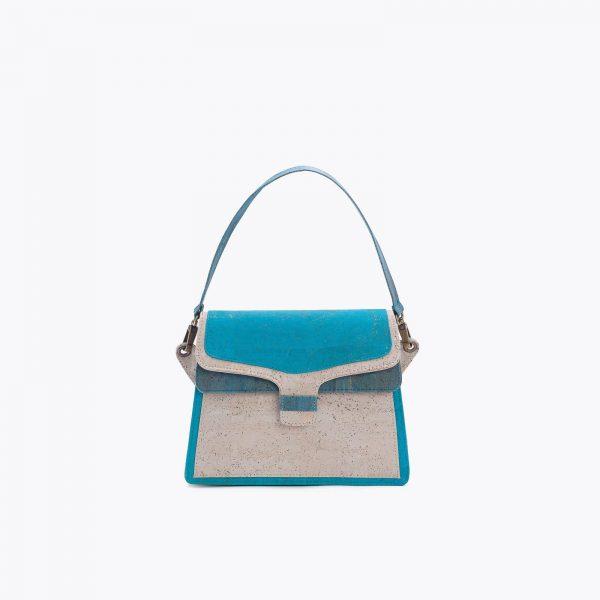 chanta Artelusa Turquoise Handbag 1