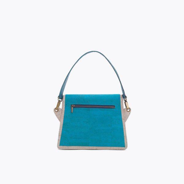 chanta Artelusa Turquoise Handbag 3