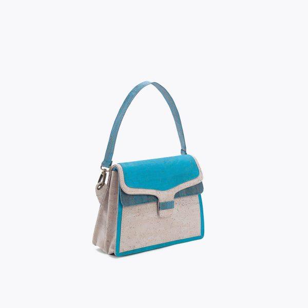 chanta Artelusa Turquoise Handbag 4