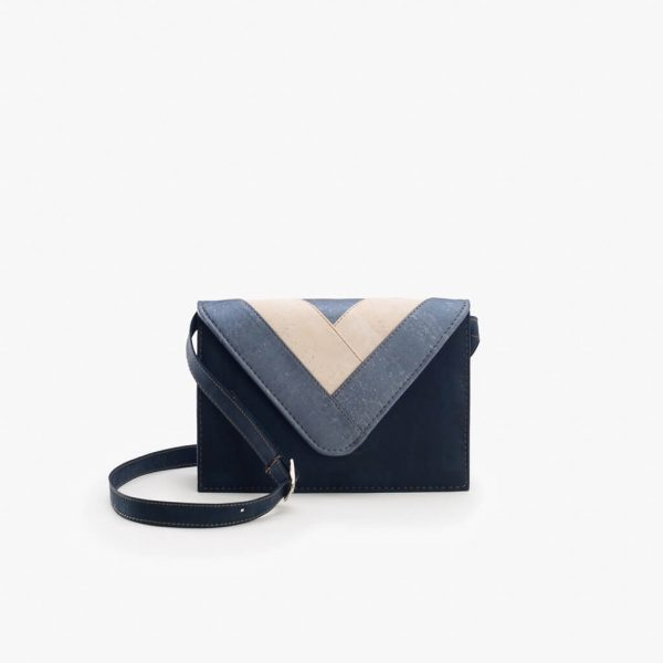 Дамска чанта от корк 'ENVELOPE AZUL'