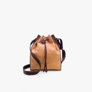 Дамска чанта от корк 'SACOLA' Brown