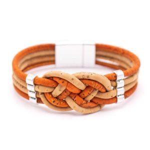 damska grivna Cork braids 1