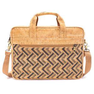 Чанта за лаптоп от корк 'PATTERNS'.