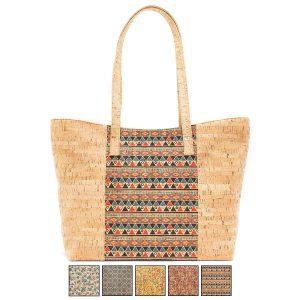 Ежедневна дамска чанта от корк 'MOLDAR'