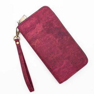 damski-portfeil-plain-cork-burgundy 1