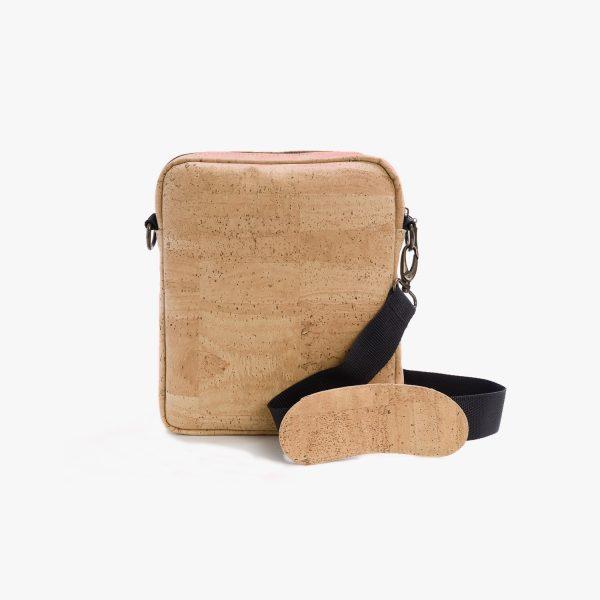 Мъжка чанта от корк 'MASCULINO' Beige