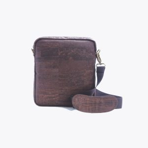 Мъжка чанта от корк 'MASCULINO' Brown