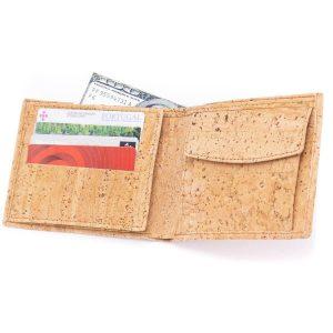 """Мъжки портфейл от корк """"Eco"""""""