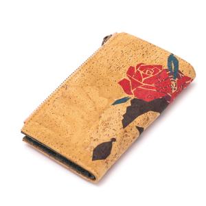 """Дамски портфейл от корк """"Frida Kahlo"""""""