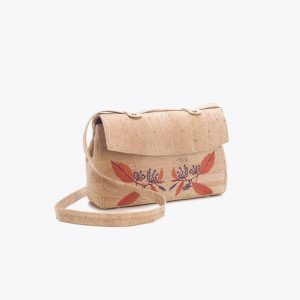 "Дамска чанта от корк ""Bordada"""