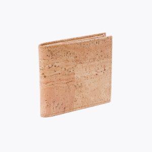 Мъжки портфейл от корк 'HOLDER' Beige