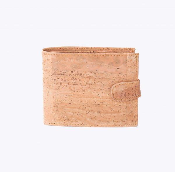 Мъжки портфейл от корк 'FECHO' Beige