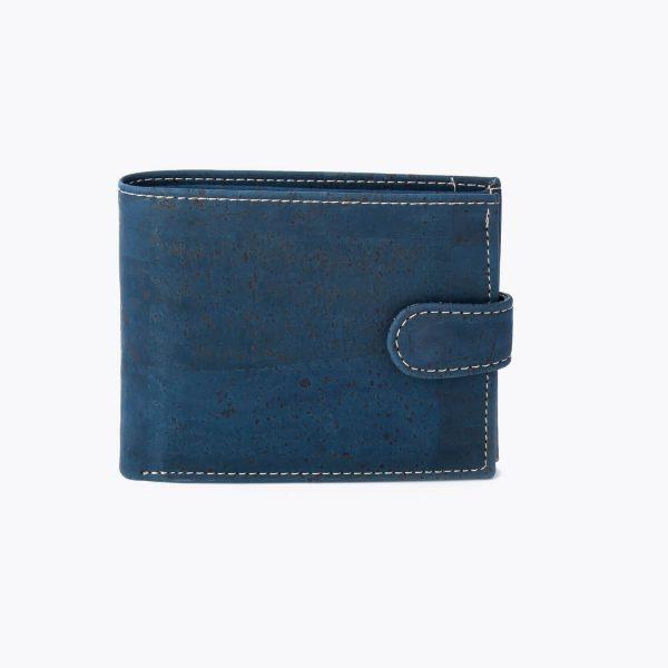 Мъжки портфейл от корк 'FECHO' Blue