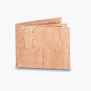 Мъжки портфейл от корк 'HOMBRE' Beige